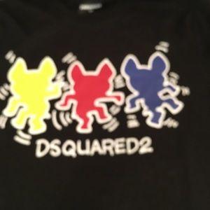 Big boy's Authentic Dsquared t shirt
